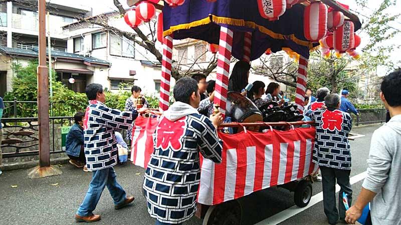 鹿島大神秋季例大祭の「こども山車」を見学してきました!